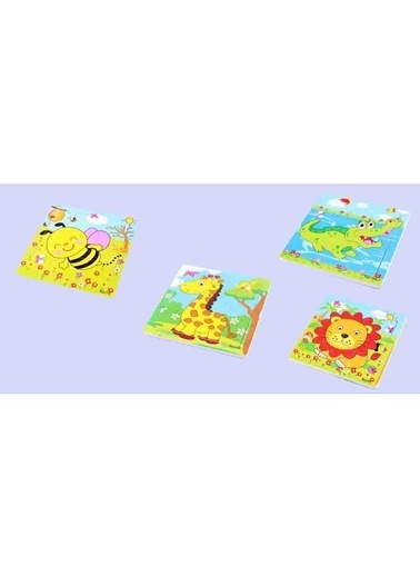 Learning Toys Puzzle Renkli